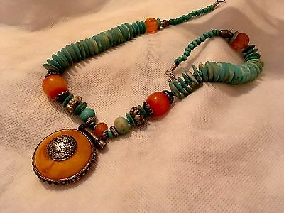 Vintage Tribal Necklace. Unusual And Beautiful 🌟