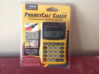 Calculated Industries 8503 ProjectCalc Classic Home Improvement Calculator for D