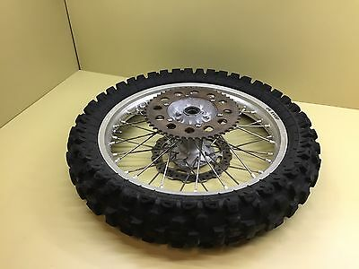 2006 06 KX450F KX125 KX250 OEM Rear Wheel Assembly Rim Spokes Hub J19x2.15