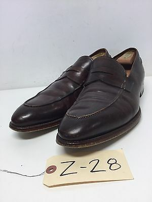Z28 Magnanni Tevio Brown Leather Penny Loafers Men's Size 13 M
