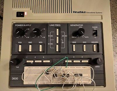 Pre-owned Heathkit Educational Systems Analog Trainer Model ET-3600