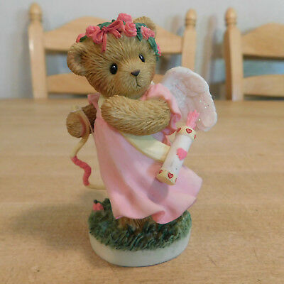 """Cherished Teddies Abbey Press Early Release """"Be My Valentine Angel"""" 2006 RARE"""