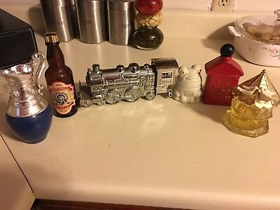Lot of Vintage Avon Cologne Bottles-