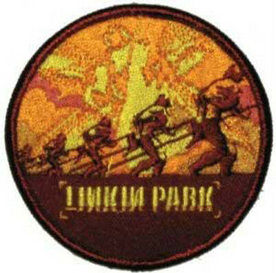 """LINKIN PARK """"Soldier"""" Woven Patch Sew On Official Band Merch Metal"""