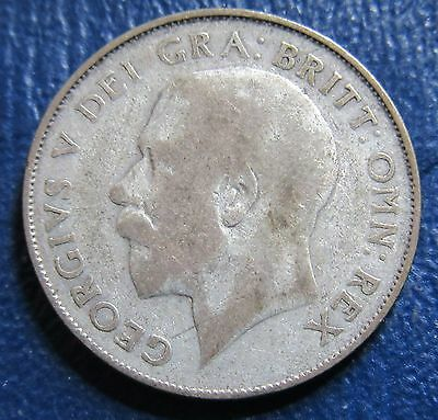 1924 Great Britain 1 One Shilling Silver Coin