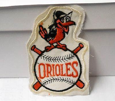 """Vintage """" Baltimore Orioles """" Old School Sew On Patch  3"""" W X 4-1/2"""" H"""