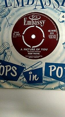Redd Wayne - A Picture Of You (Embassy WB 511) VG+