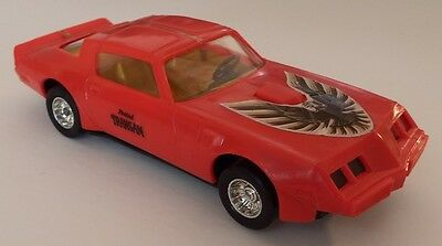 Vintage Plastic Hong Kong 1979 Pontaic Firebird Trans Am! 1/24 Scale! Awesome!