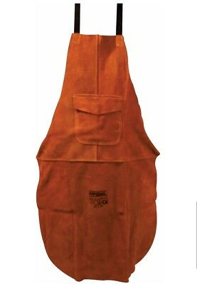Premium Brown Leather Welders / Welding / Carpenters / Gardeners Safety Apron