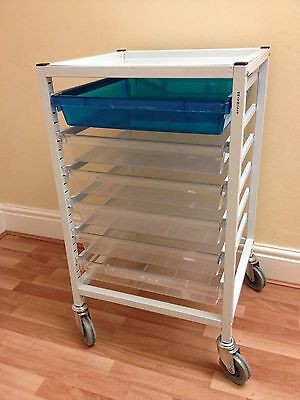 6-Drawer Medical Cannulation Dressing Trolley, Beauty, Hairdressing, Storage
