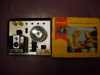Kodak Brownie Hawkeye Outfit in Original Box