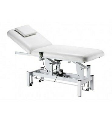 Beauty Clinic 1 Motor Table Treatment Massage White Luxury Bed Chair Facials Spa