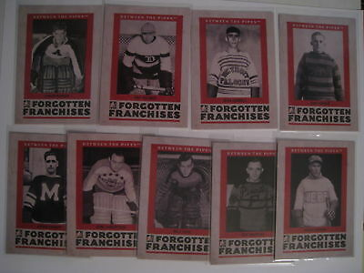 2006-07 ITG Between The Pipes FORGOTTEN FRANCHISES INSERT  U-PICK FROM THE LIST