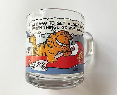 Vintage 1978 McDonald's GARFIELD EASY TO GET ALONG WITH Coffee Cup Mug