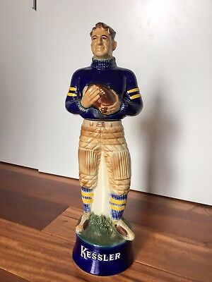 Limited Edition Kessler decanter The Football Player