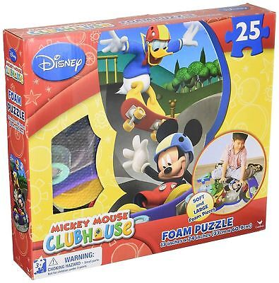 Mickey Foam Puzzle Mat Boxed New