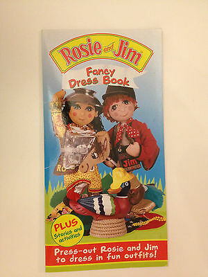 Rare New Collectible Rosie & Jim Activity Fancy Dress Book