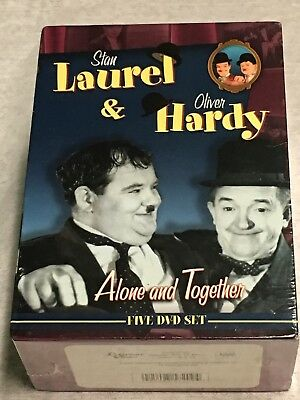 The Laurel and Hardy Collection Volume 2: Alone and Together (DVD) 5-Disc! NEW!