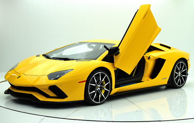 2018 Lamborghini Aventador  NEW 2018 LAMBORGHINI AVENTADOR S COUPE