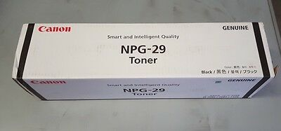 Genuine Canon Laser Toner Cartridge NPG-29 Black