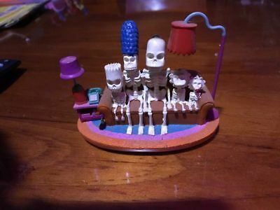 """Couch Skeleton"" Rare Simpsons Figure, Hamilton Collectable, NIB, COA"