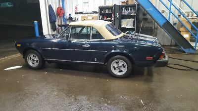 1981 Fiat 124 Spider  fiat spider 124  convertible.  must see. lots of new upgrades. New engine, trans