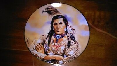 Franklin Mint Heirloom Spirit of the Winged Hunter Limited Edition Plate