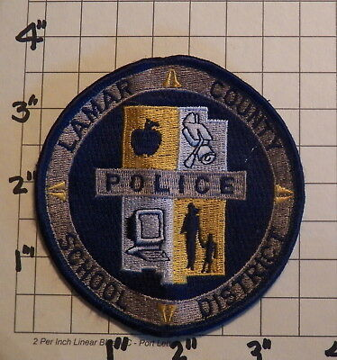 Lamar County (Purvis,MS) School District Police Department Patch