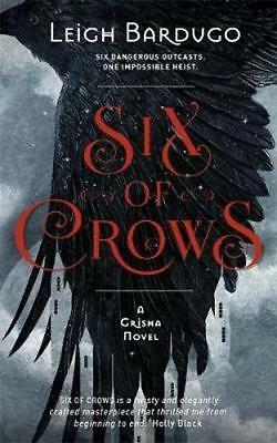 NEW Six of Crows By Leigh Bardugo Paperback Free Shipping