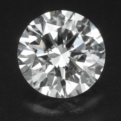 RBC 1.01ct Loose Diamond GIA Certified IF Purity Fluorescence None Ex CUT