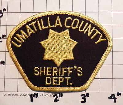Umatilla County (OR) Sheriff's Department Patch