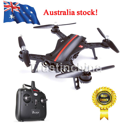 MJX B8 Bugs RC Brushless Racing Drone With HD Camera And Independent ESC Black