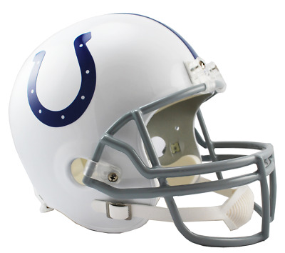 Nfl Riddell Indianapolis Colts Replica American Football Helmet