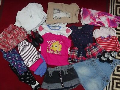 Large Bundle Baby Girl Clothes 6-9 Months 26 Items