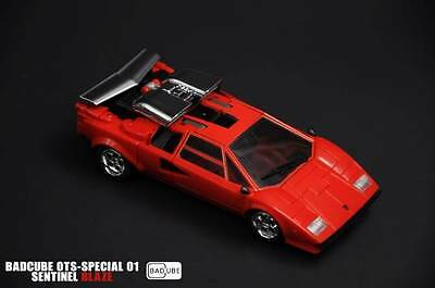 Misb Badcube - Ots-Special 01 - Sentinel Blaze (Mp Red Sunstreaker)