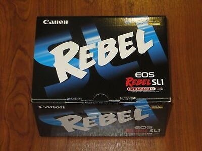 Canon EOS Rebel SL1 100D 18.0MP SLR Camera - with STM EF-S 18-55mm 013803222654