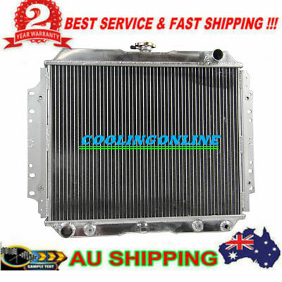 3ROW Radiator FOR HOLDEN RODEO TF G3 G6 2.2L 2.6L PETROL AT/MT 1987-97 1989