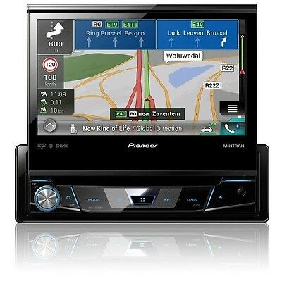 pioneer avh x7800bt autoradio 1 din mit ausfahrbarem. Black Bedroom Furniture Sets. Home Design Ideas