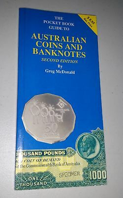 1994 McDonald's Pocket Book Guide to Australian Coins and Banknotes 160 pages