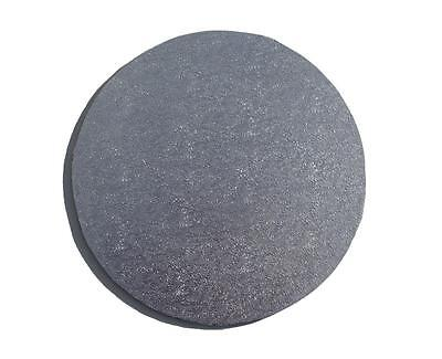 "Silver Round 10"" MDF Cake Board - cake decorating"
