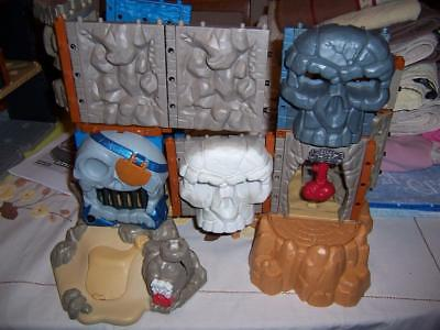 Phantom Island Skulls Fisher Price Imaginext Build Construction Playset Incomple