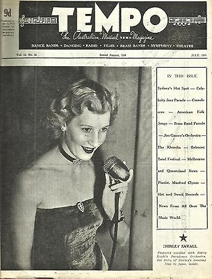 Tempo - The Australian Musical News Magazine (July 1950 Issue)