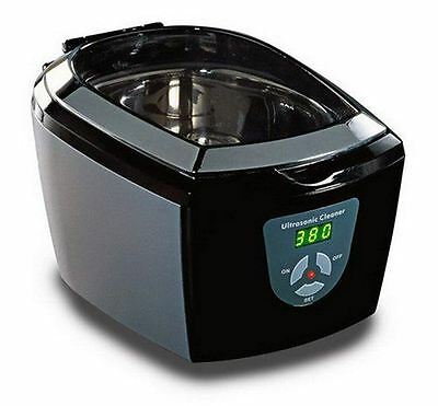 JPL Ultrasonic 7000 Jewellery, Spectacle, CD/DVD, Coins Care Cleaner BLACK