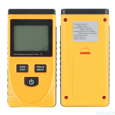 Electromagnetic Radiation Detect Digital Meter Dosimeter Test Counter Geiger QG4