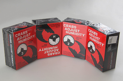 Crabs Adjust Humidity 4-Pack (Vol. 1-4) Cards Against Humanity Expansion New