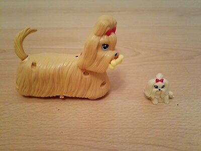 Barbie Puppy Play Park Set , Dog with bone, Mattel 2011 & Mattel Small Dog