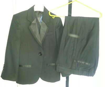 Boys Blue zoo three piece suit in black age 4 years