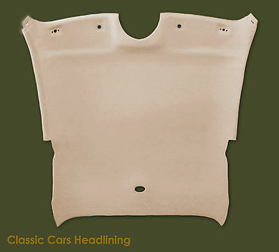 Headliner for Jaguar XK8/XKR 1996-2005 in original oatmeal colour - AGD