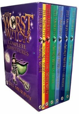 The Worst Witch Collection 7 Books Set PAck By Jill Murphy New 9789123618361