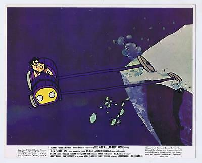 The Man Called Flinstone Uk Lobby Card Original 1966